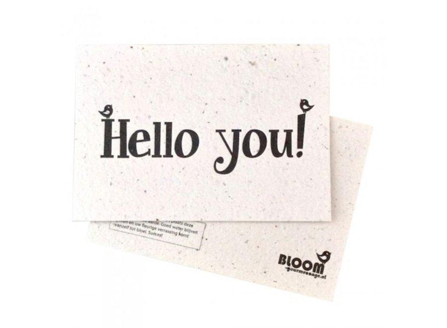 Enkele kaart- Hello You