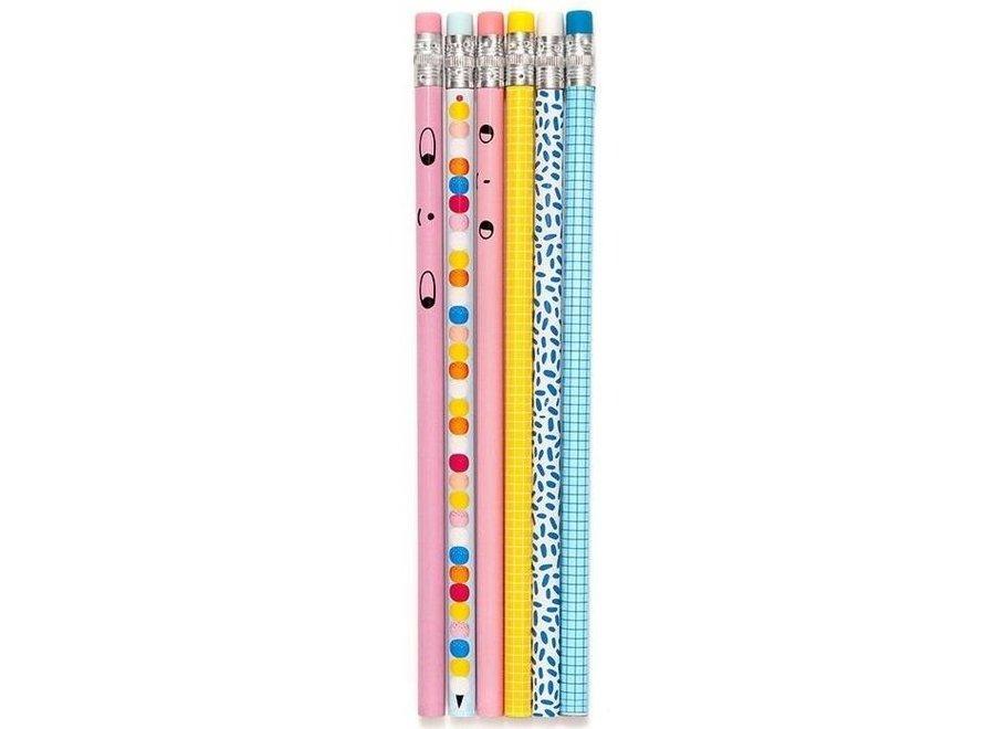 Graphite Pencils 6st