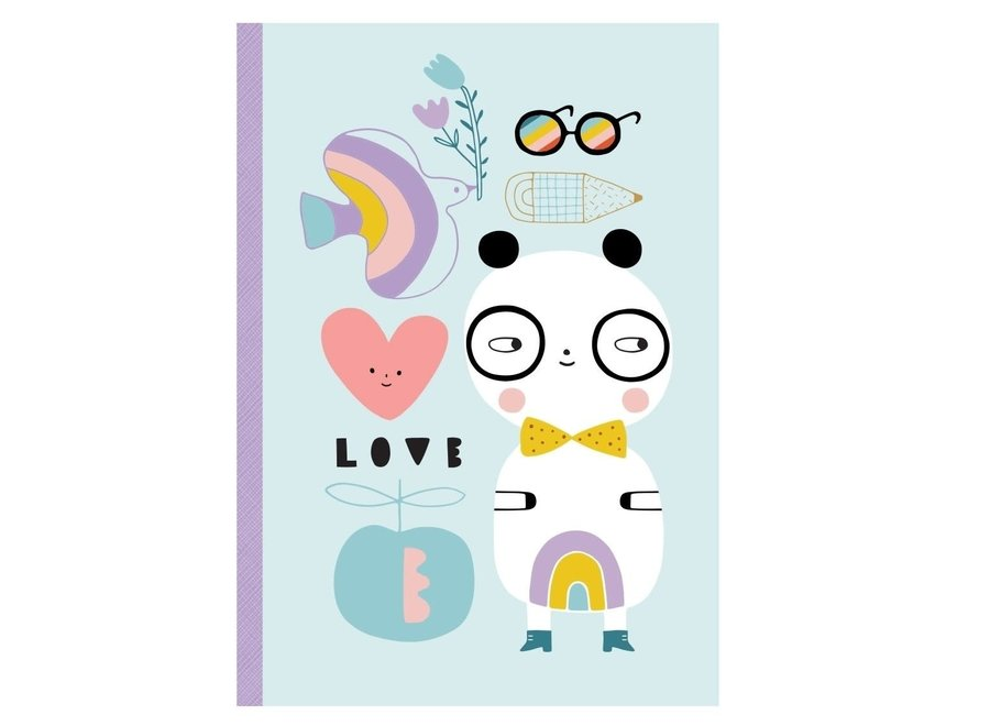 Notebook Panda Love