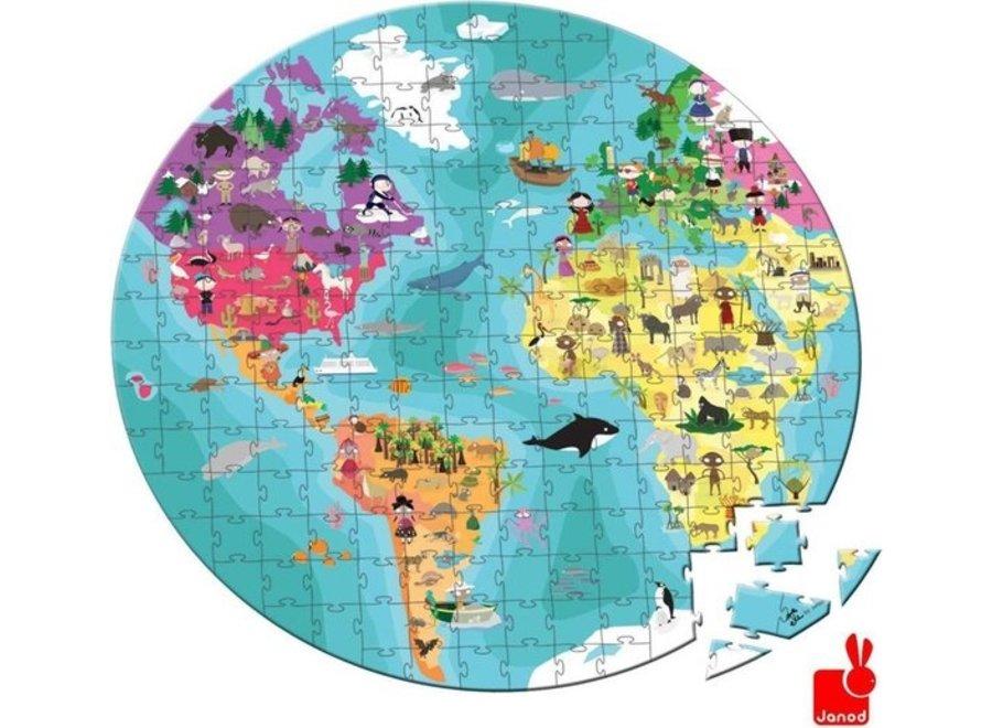 Puzzel - Aarde 208st