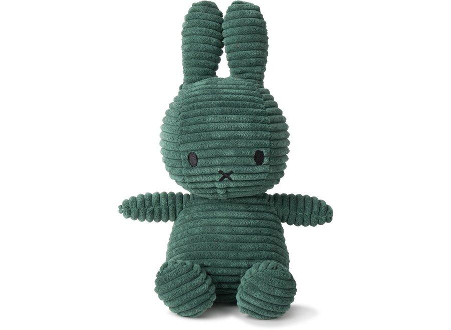 Miffy Sitting Corduroy Green - 23 cm