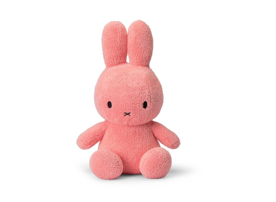 Miffy Sitting Terry Pink 33 cm