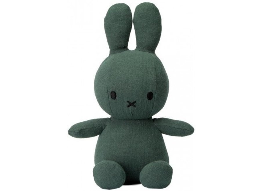 Miffy Sitting Mousseline Green- 23 cm