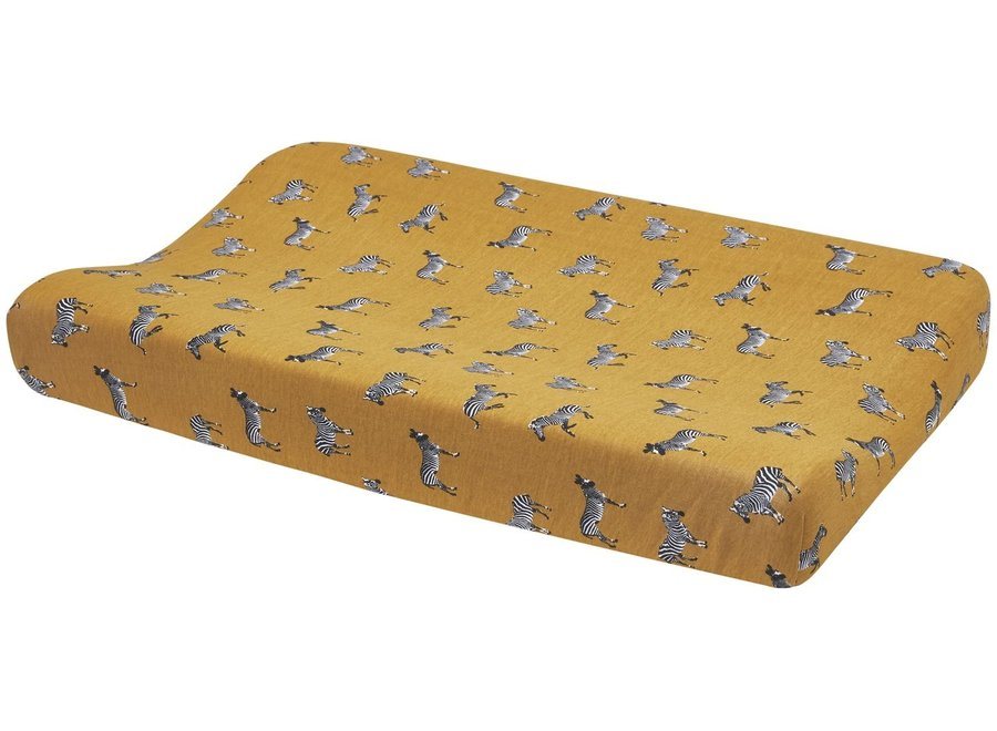 Waskussenhoes 50x70  - Zebra Gold
