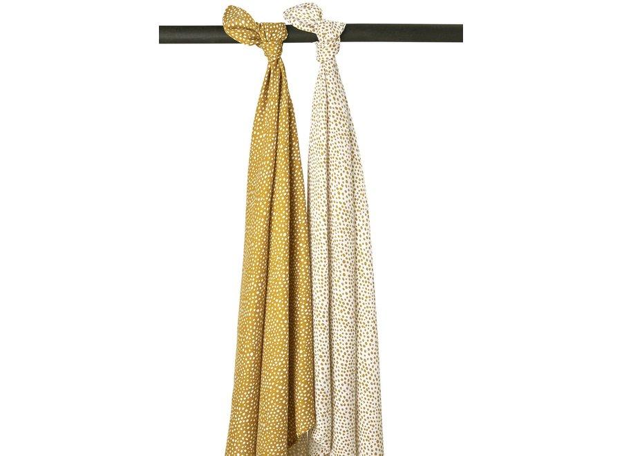 Hydrofiel doek 120x120 (2st) - Cheetah Gold