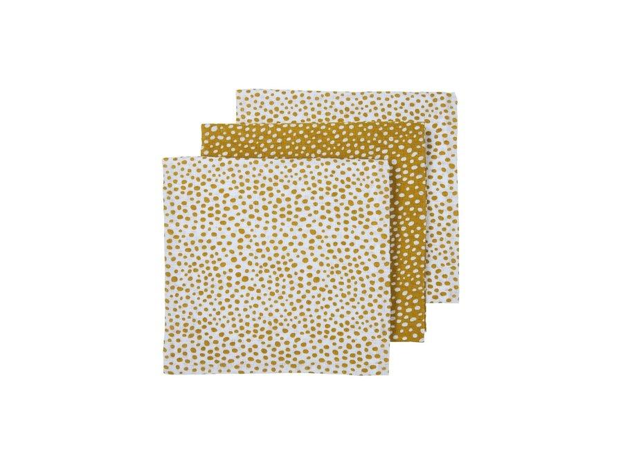 Hydrofiel doek (3st) - Cheetah gold
