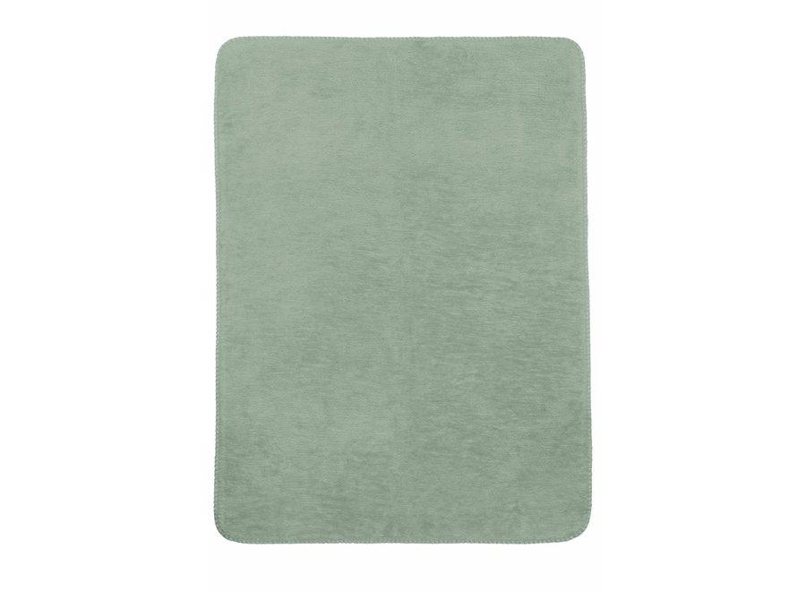 Wiegdeken 75x100 cm - Stone Green
