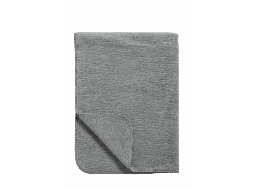 Wiegdeken 75x100 cm - Grijs