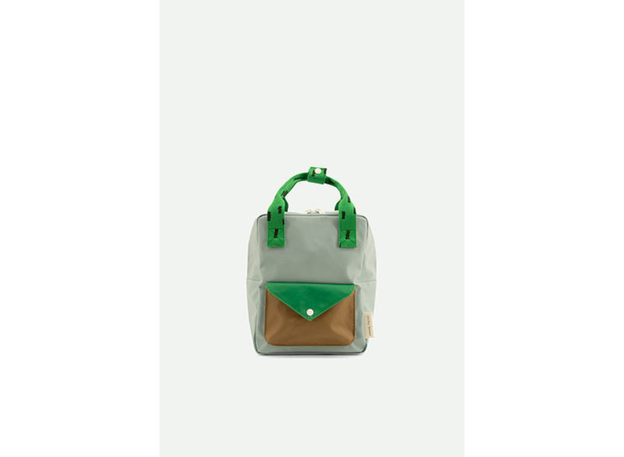 Rugtas small | Sprinkles envelope - Blue, green