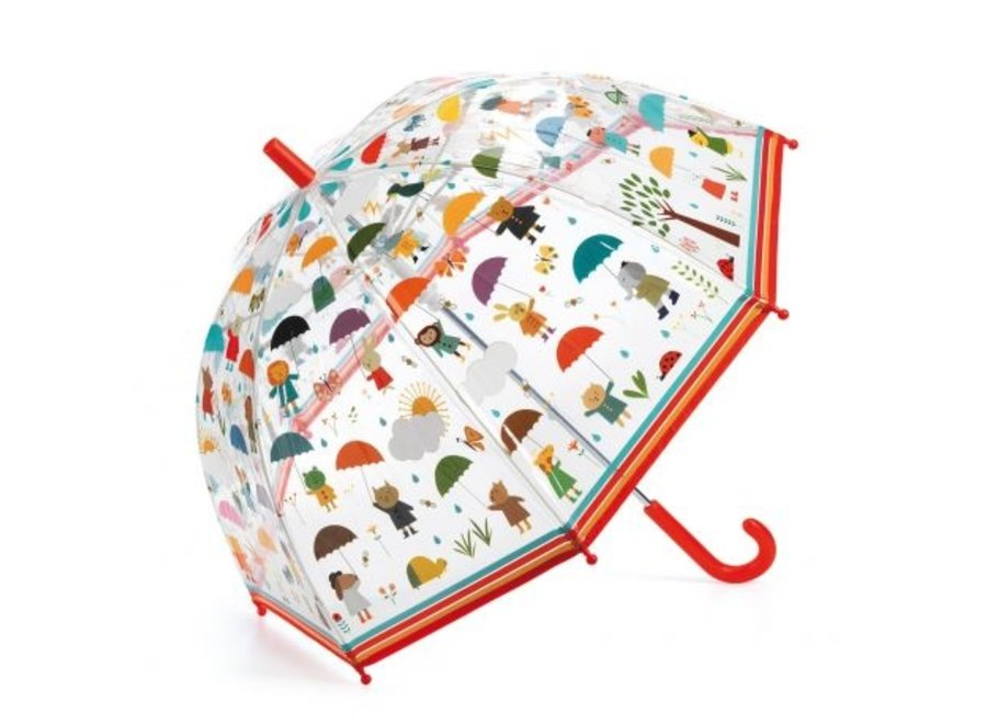 Paraplu - In de Regen
