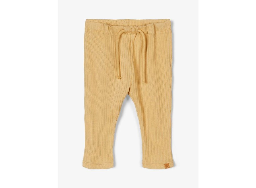 Loose fit Broek rib - Taupe