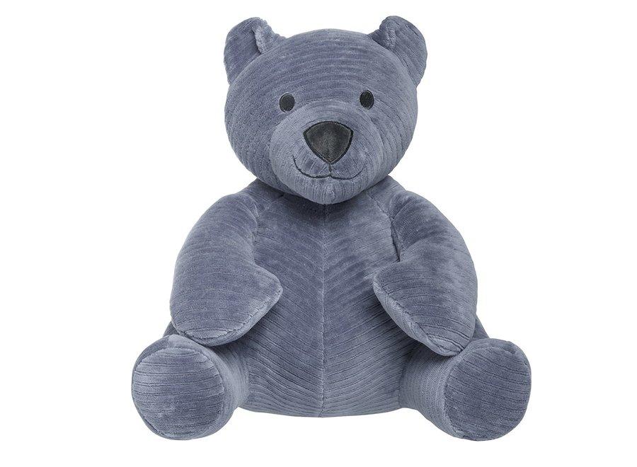 Knuffelbeer - vintage blue