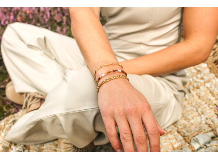 Hold on bracelet gold