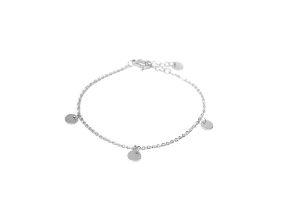 Label Bracelet Silver