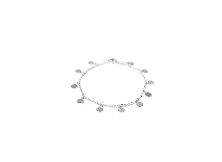Mini Label Bracelet Silver