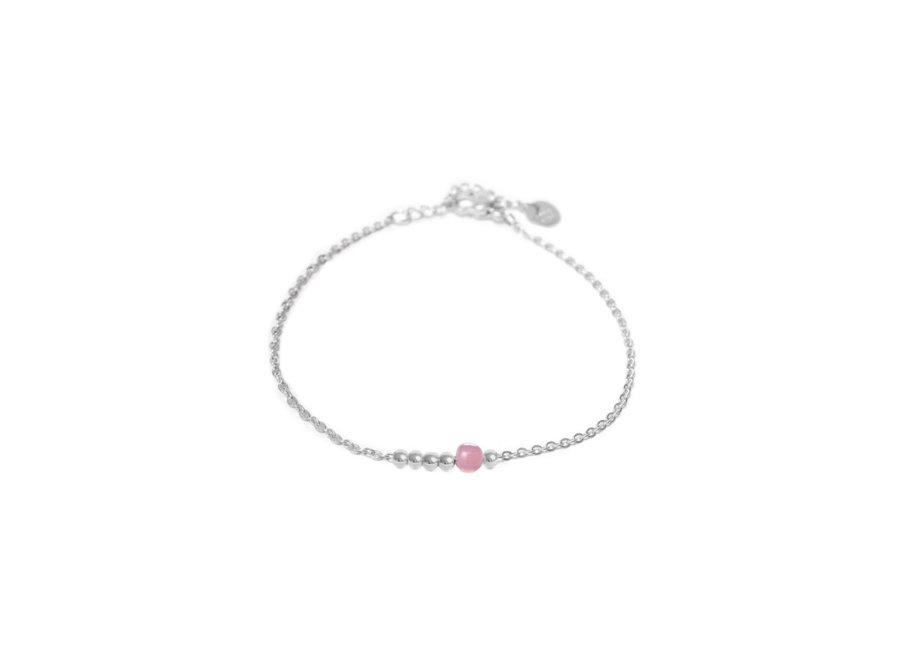 Lilac Dot Silver
