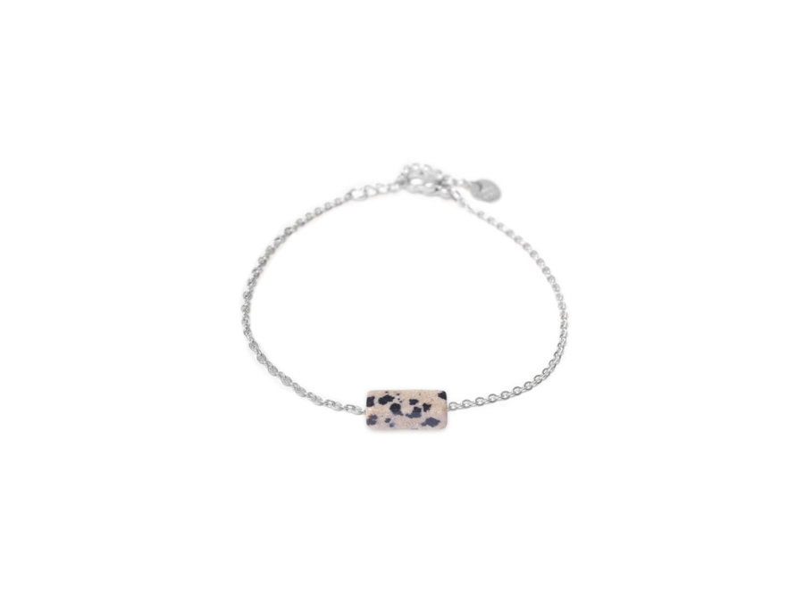 Dalmatian Jasper Silver