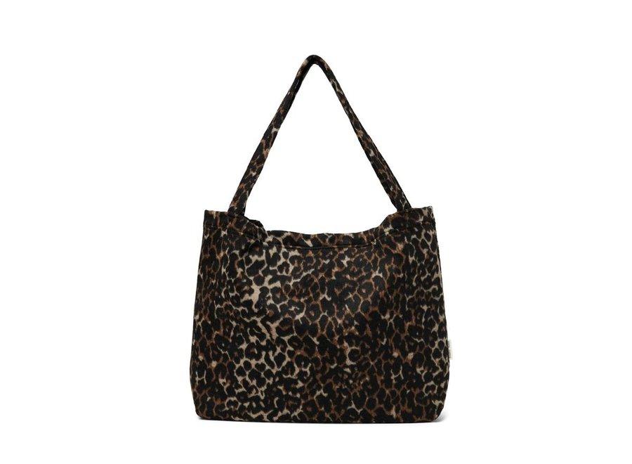 Bruine Jaguar mom-bag