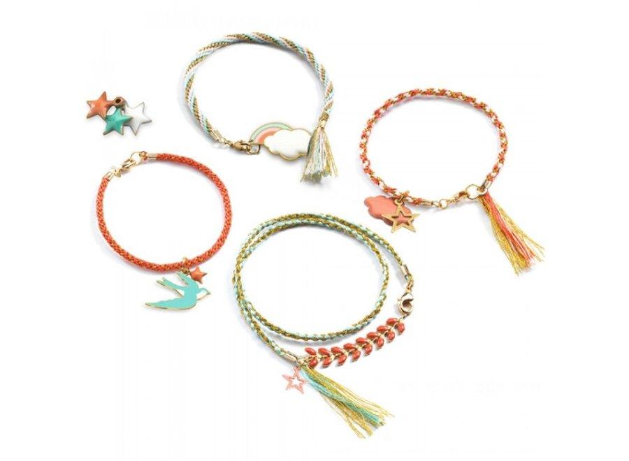 Armbandjes maken - Japanse stijl