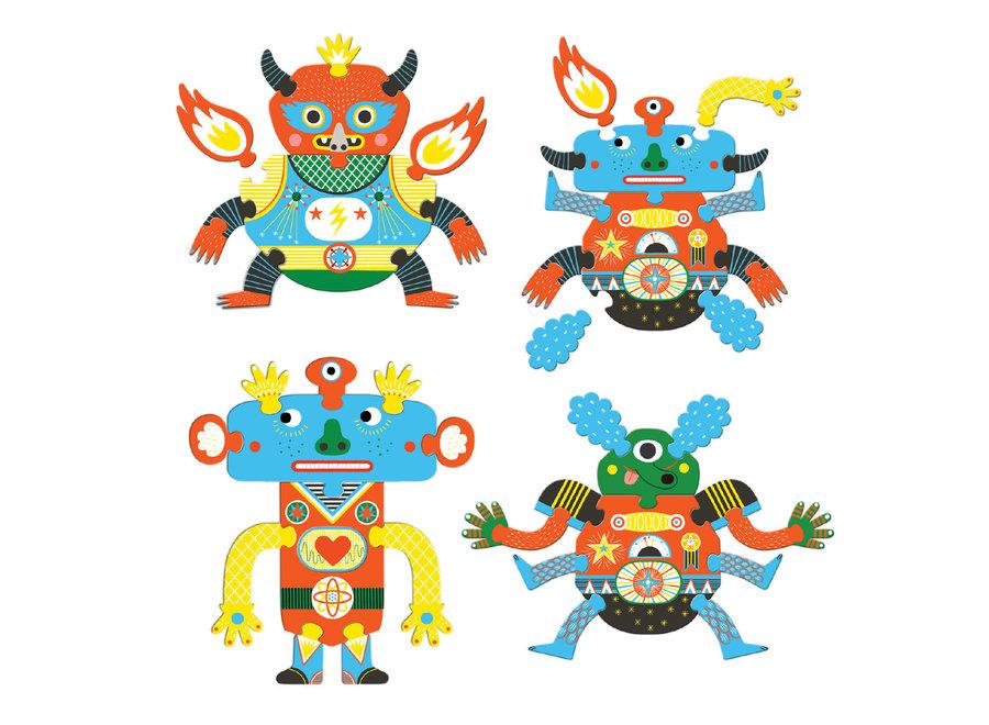 Puzzel - Crazy Monsters
