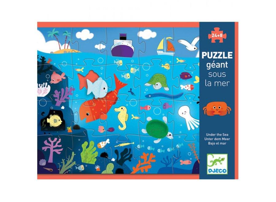 Puzzel - Diep in de Zee (24st)