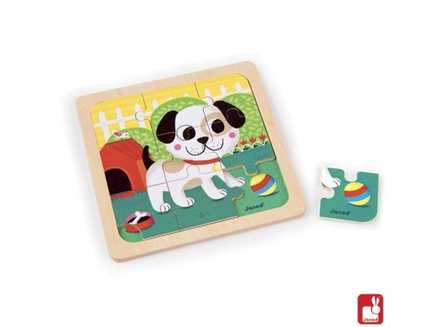 Puzzel - Hond Titus (9st)