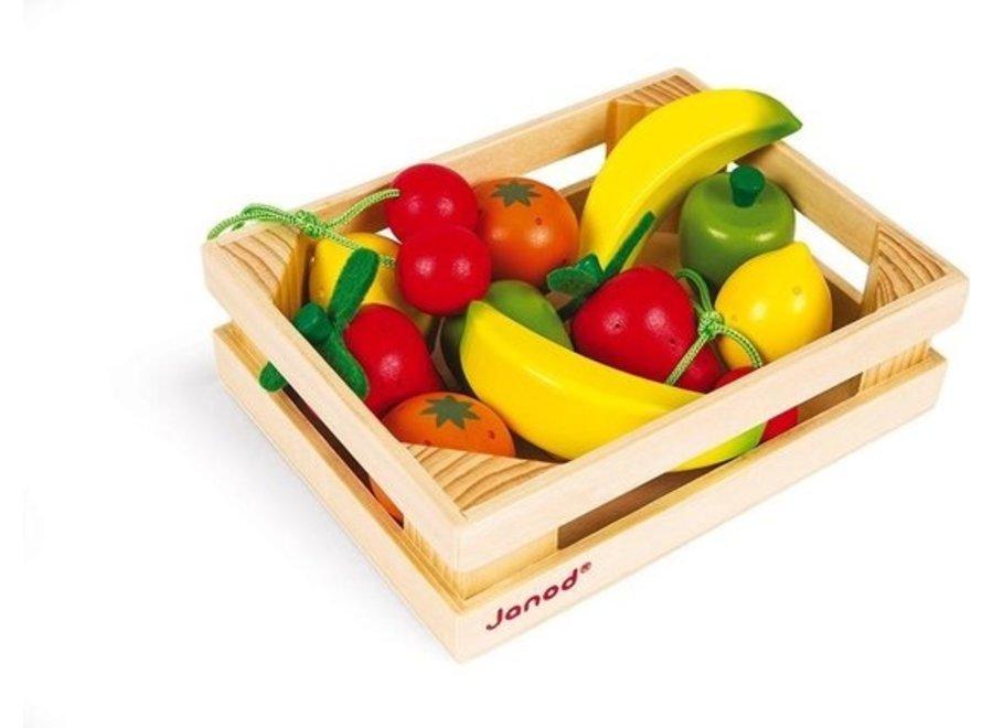 Krat Fruit  12 delig