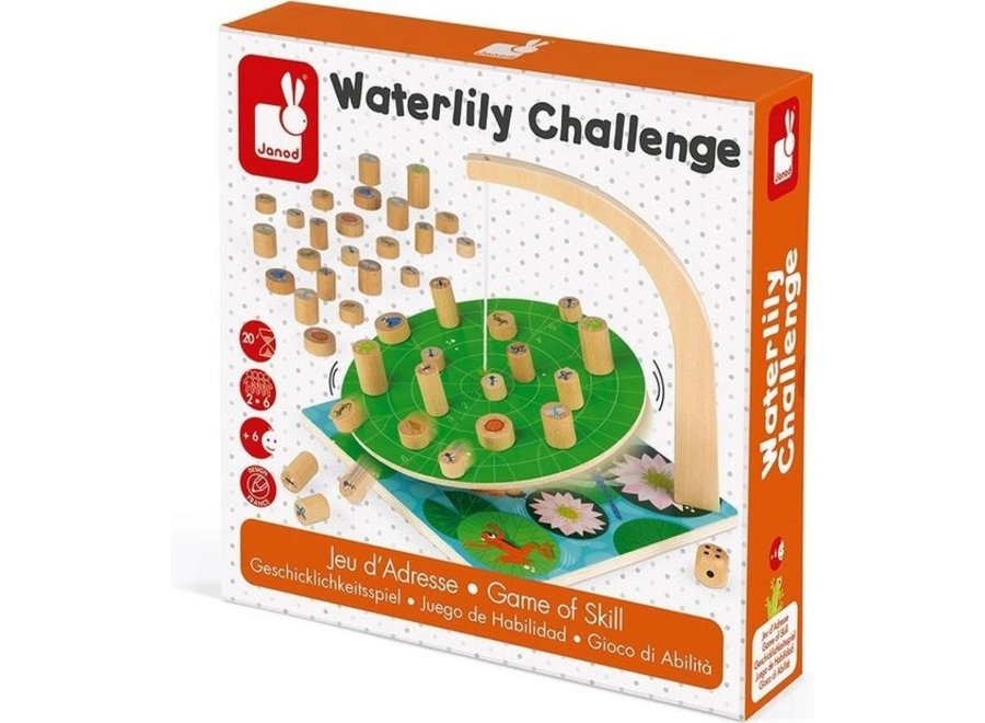 Spelletje - Waterlelie challenge