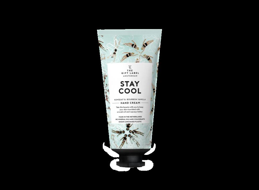 Hand cream tube - stay cool