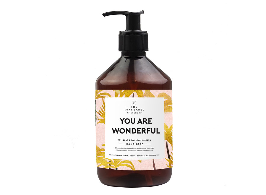 Hand soap 500ml - you are wonderful