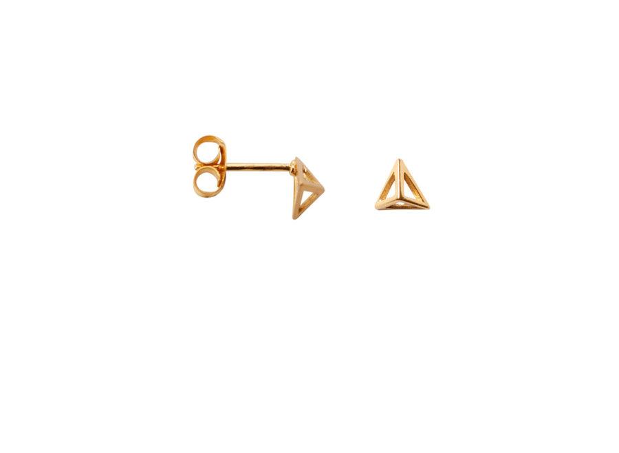 Triangle pyramid Gold