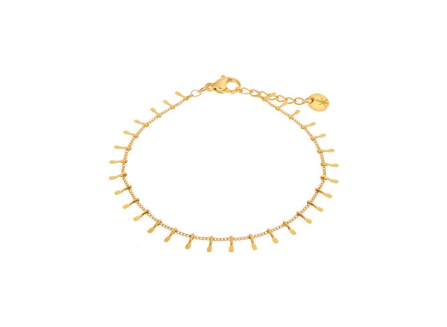 Sunny bracelet gold