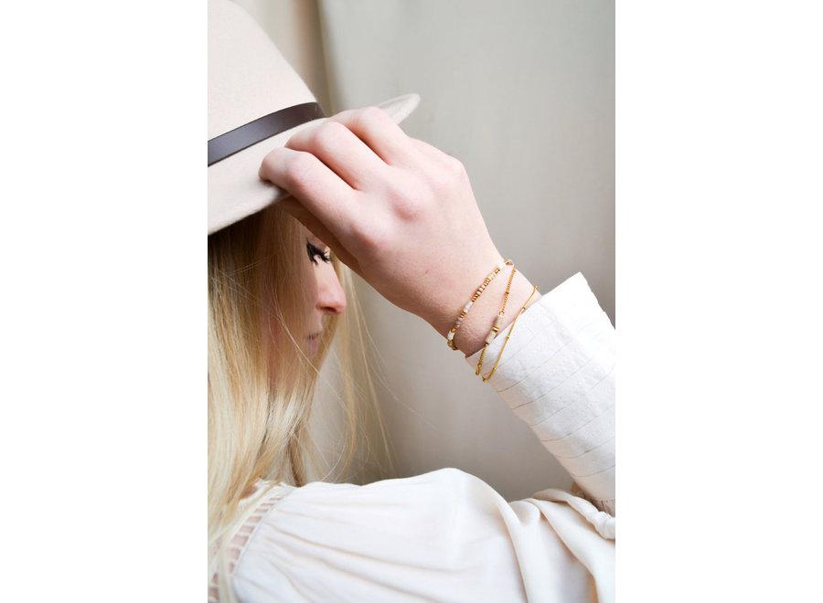 Golden hour bracelet Gold