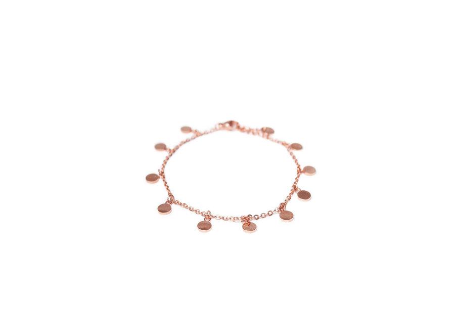 Round Ball Bracelet Rosegold