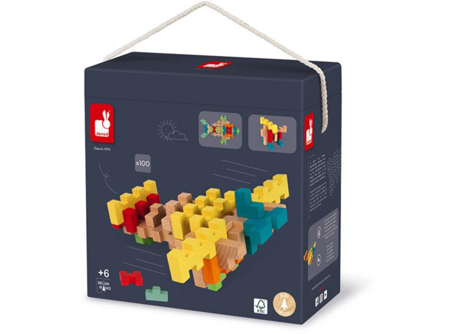 Constructie Blokken (100st)