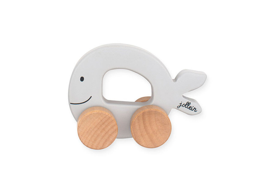 Speelgoedauto Sea animal grey