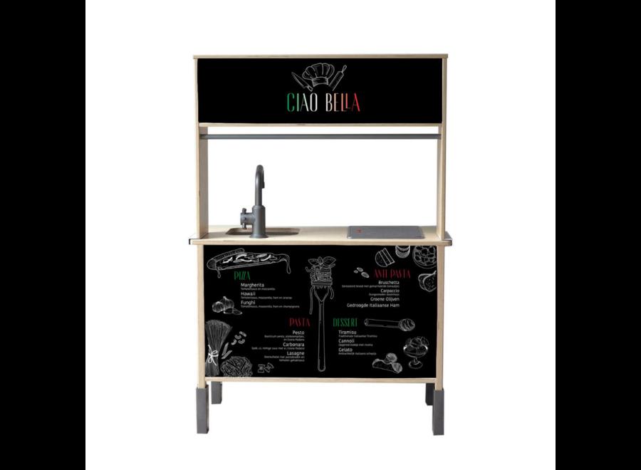 Italian Restaurant Sticker Set - tbv Ikea Düktig keukentje
