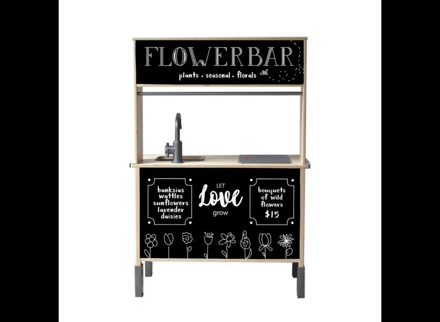 Flower Bar Sticker Set - tbv Ikea Düktig keukentje