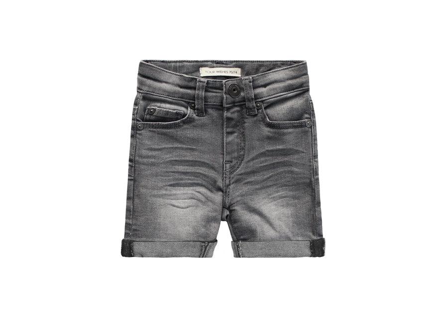 Denim Grey| Shorts