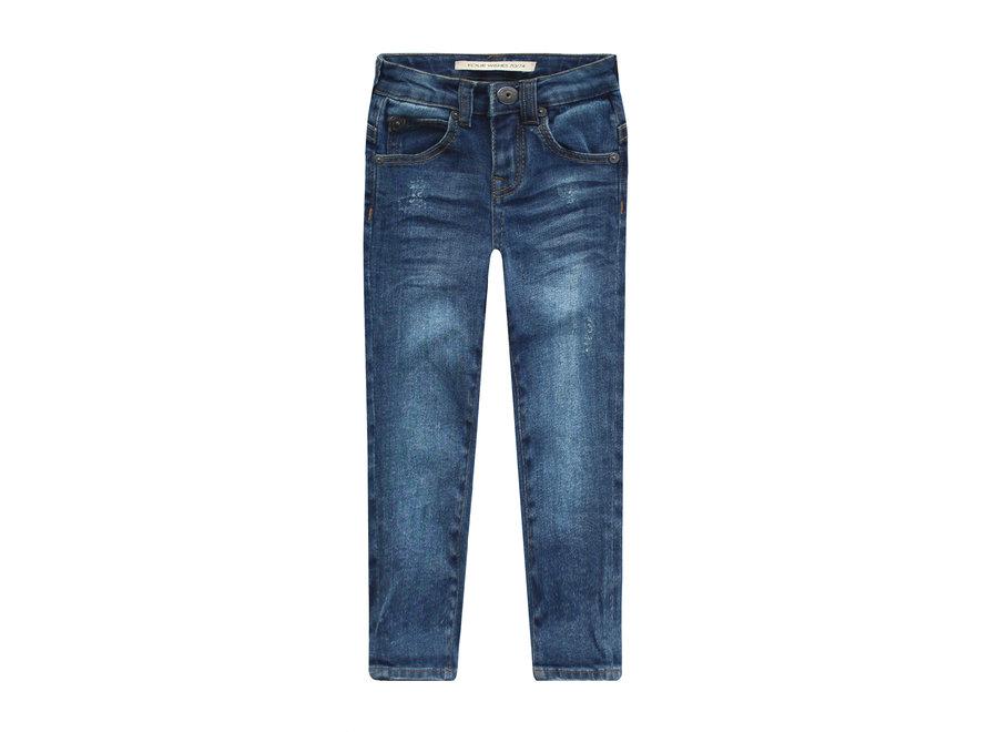 Denim Blue   Slim Fit Jeans