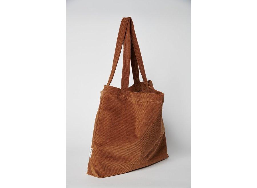 Brown-ie rib mom-bag