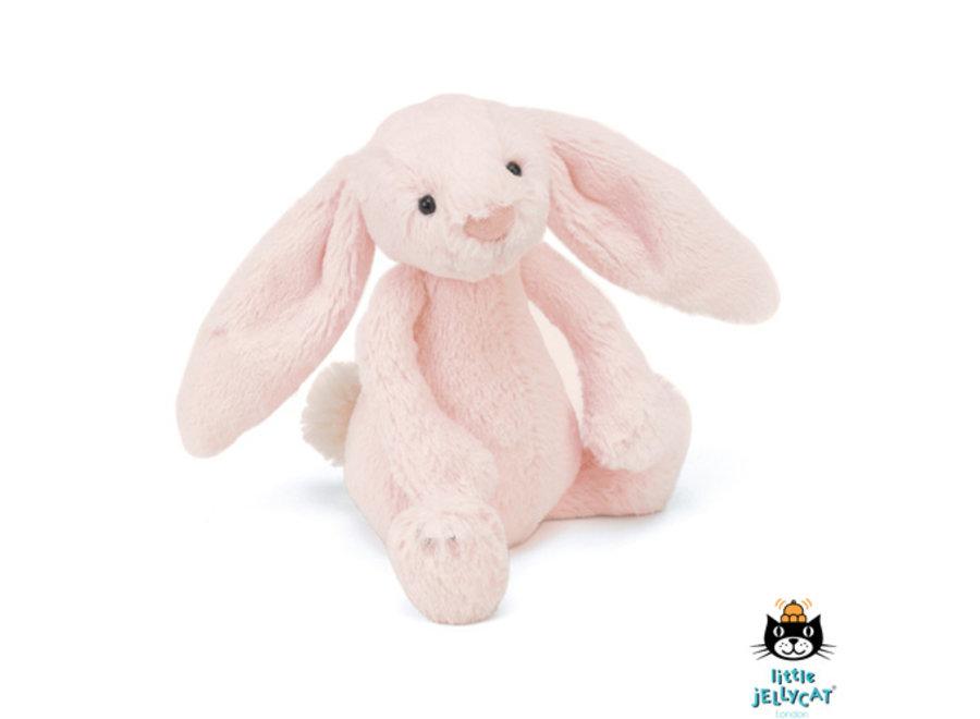 Bashful Pink Bunny Rattle