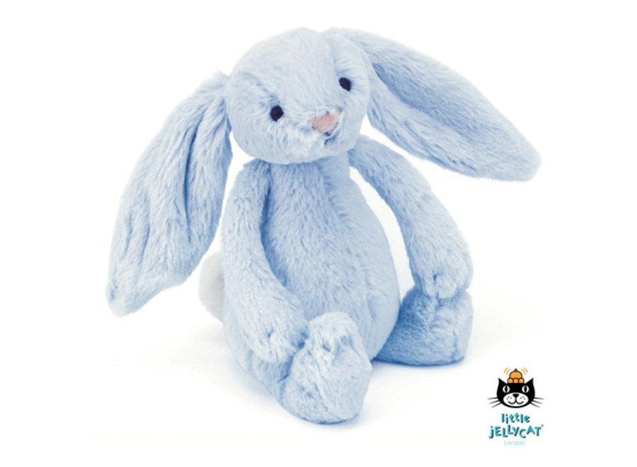 Bashful Blue Bunny Rattle