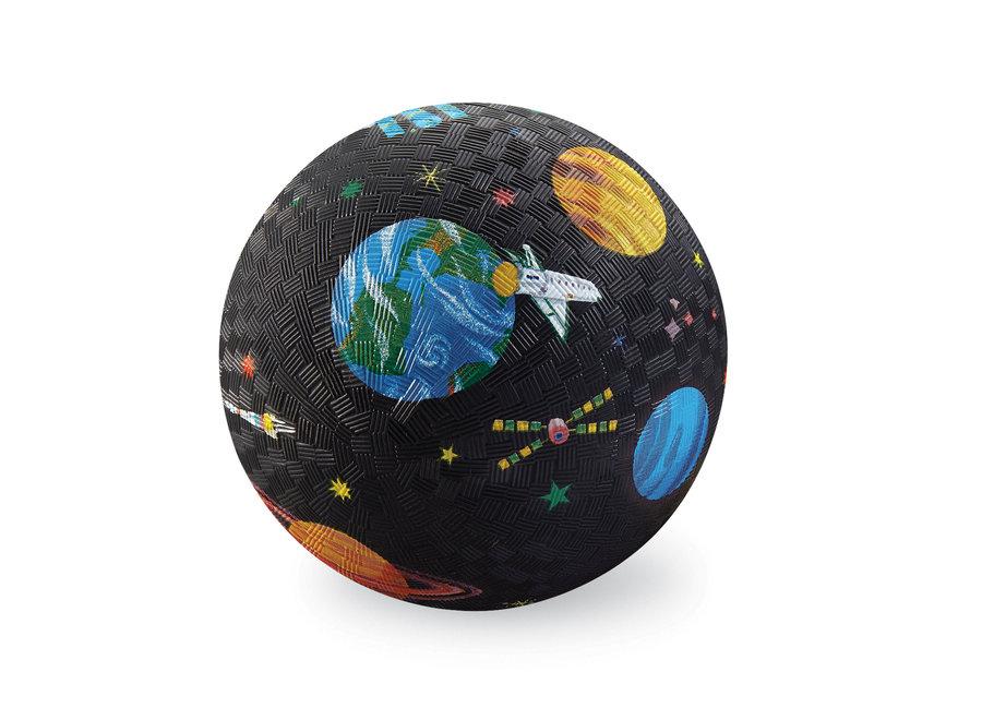 Rubberen  bal 18 cm - In de ruimte