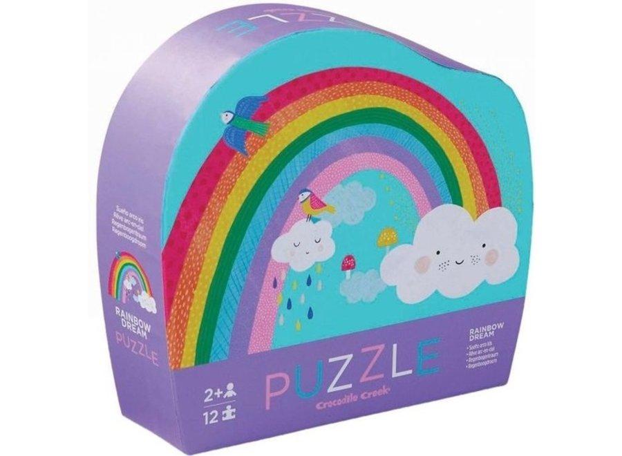 Puzzel - Regenboog 12st