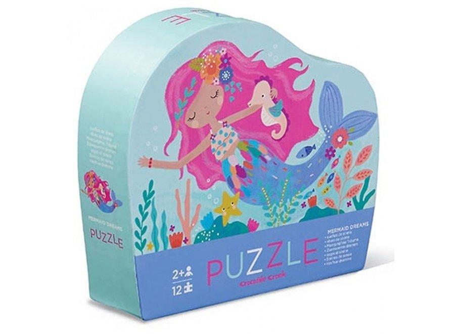Puzzel - Zeemeermin 12st