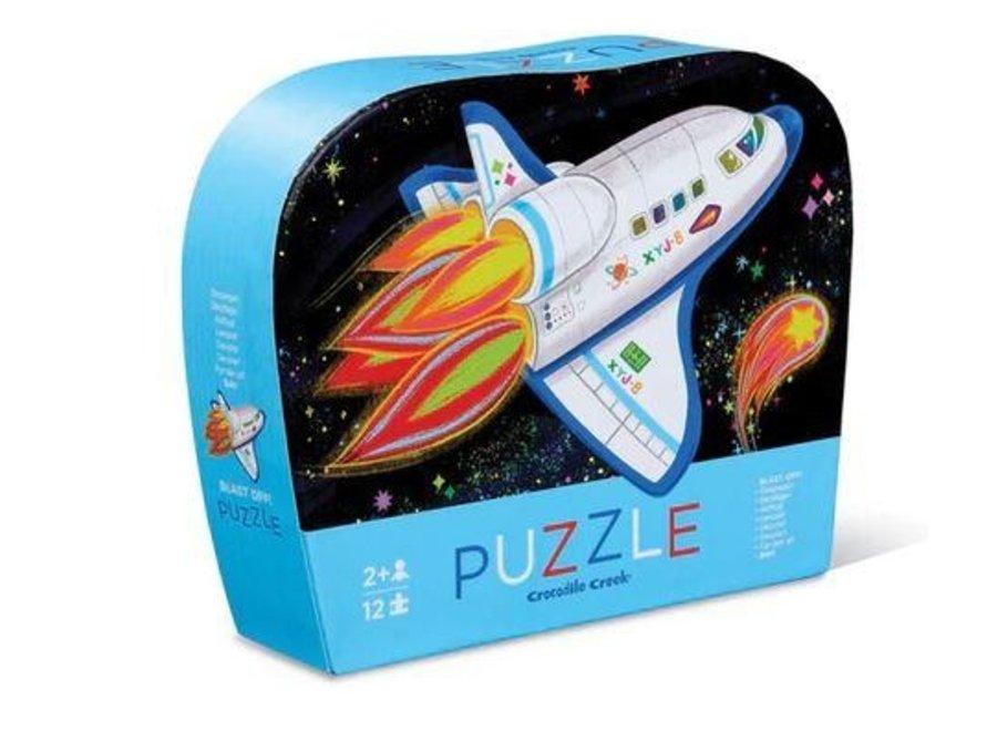 Puzzel - Raket 12st