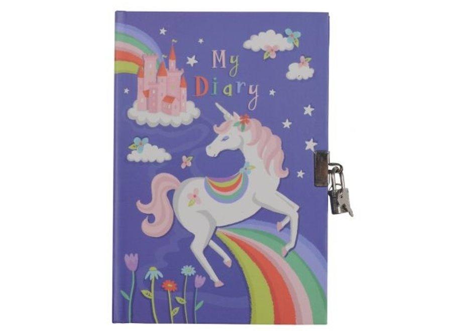 Dagboek - Unicorns Rainbow