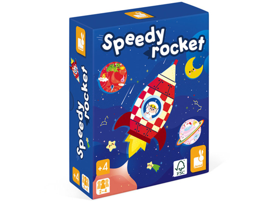 Spelletje - Speedy Rocket
