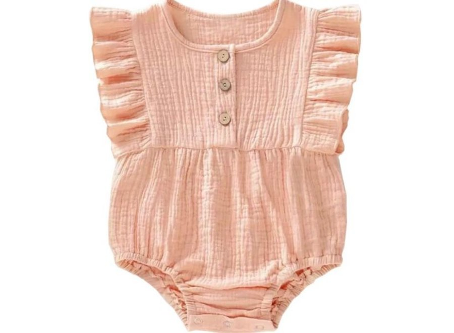 Onesie Lexie and the Moon - Muslin Soft Pink